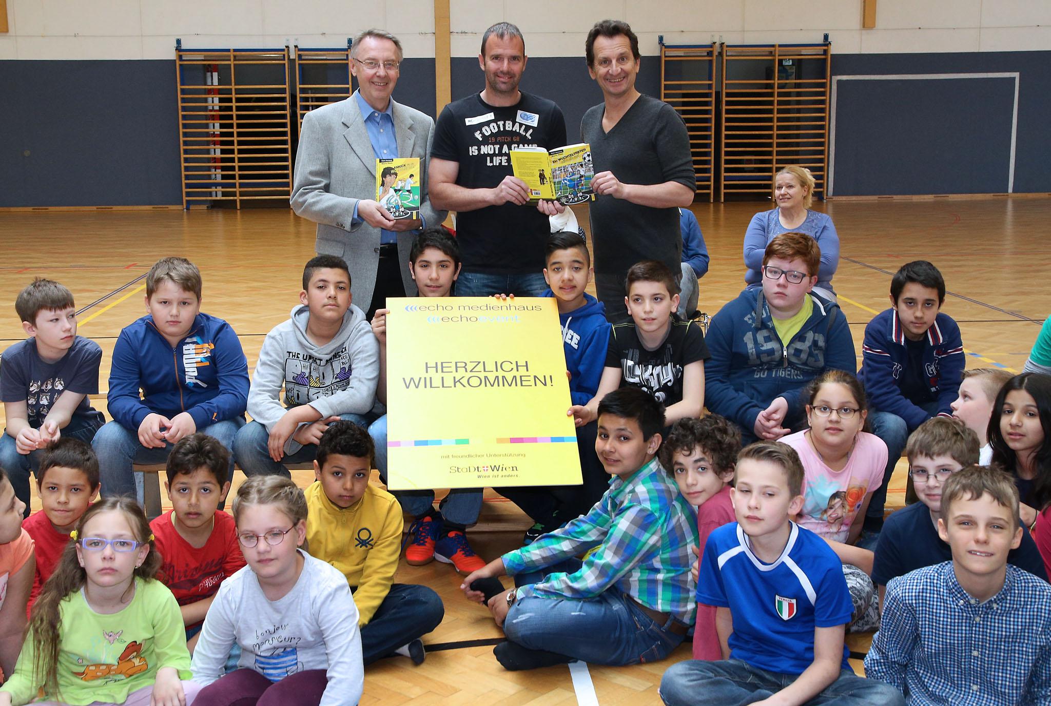 Welttag des Buches mit Herrn Amtsführenden Stadtrat Christian Oxonitsch (©VOTAVA/PID)