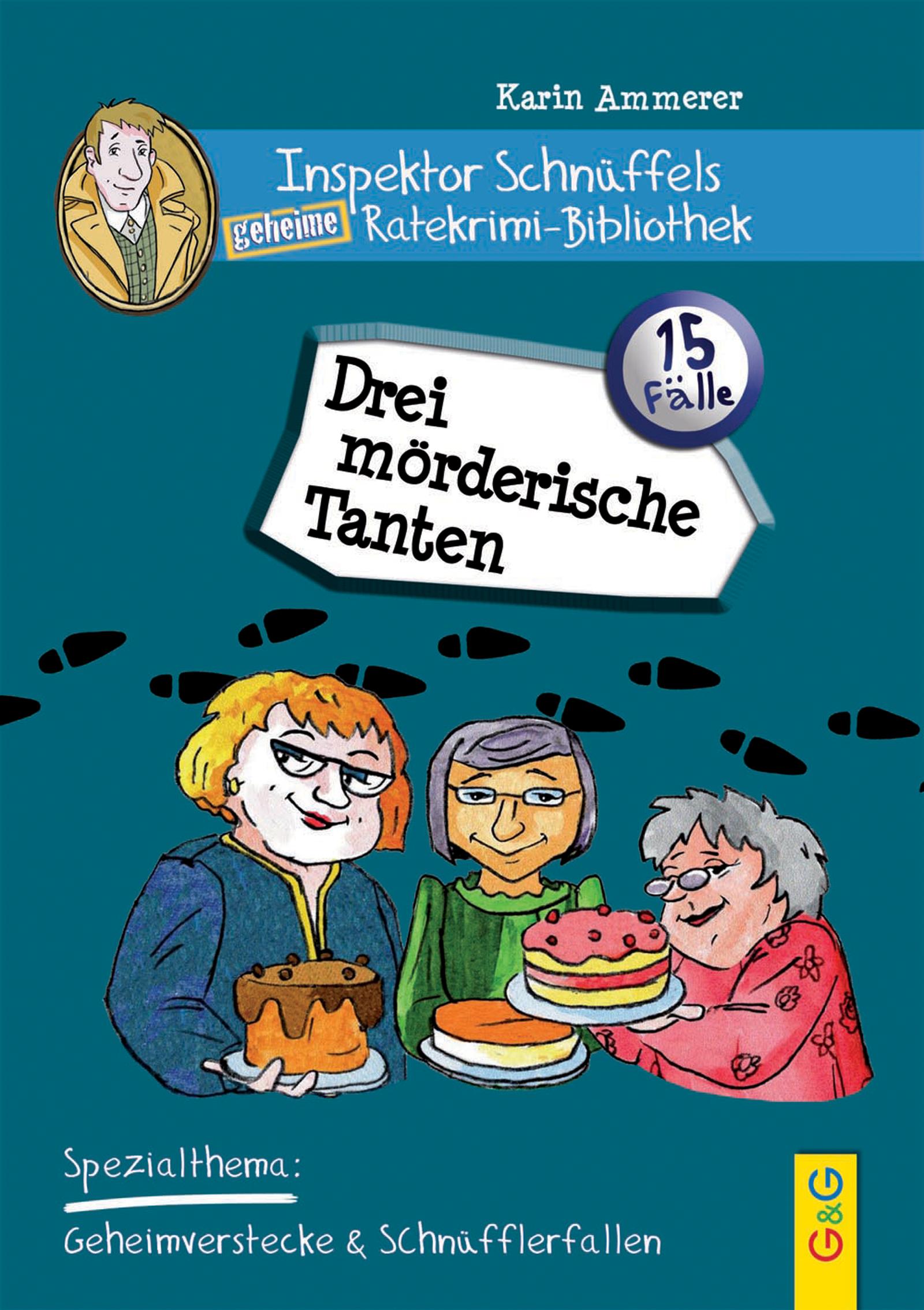 Karin Ammerer - Drei mörderische Tanten - Produktcover
