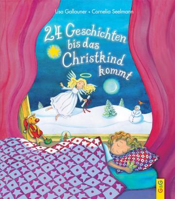 24 Geschichten bis das Christkind kommt - Buchcover