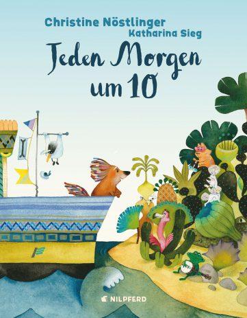 Buchcover: Jeden Morgen um 10