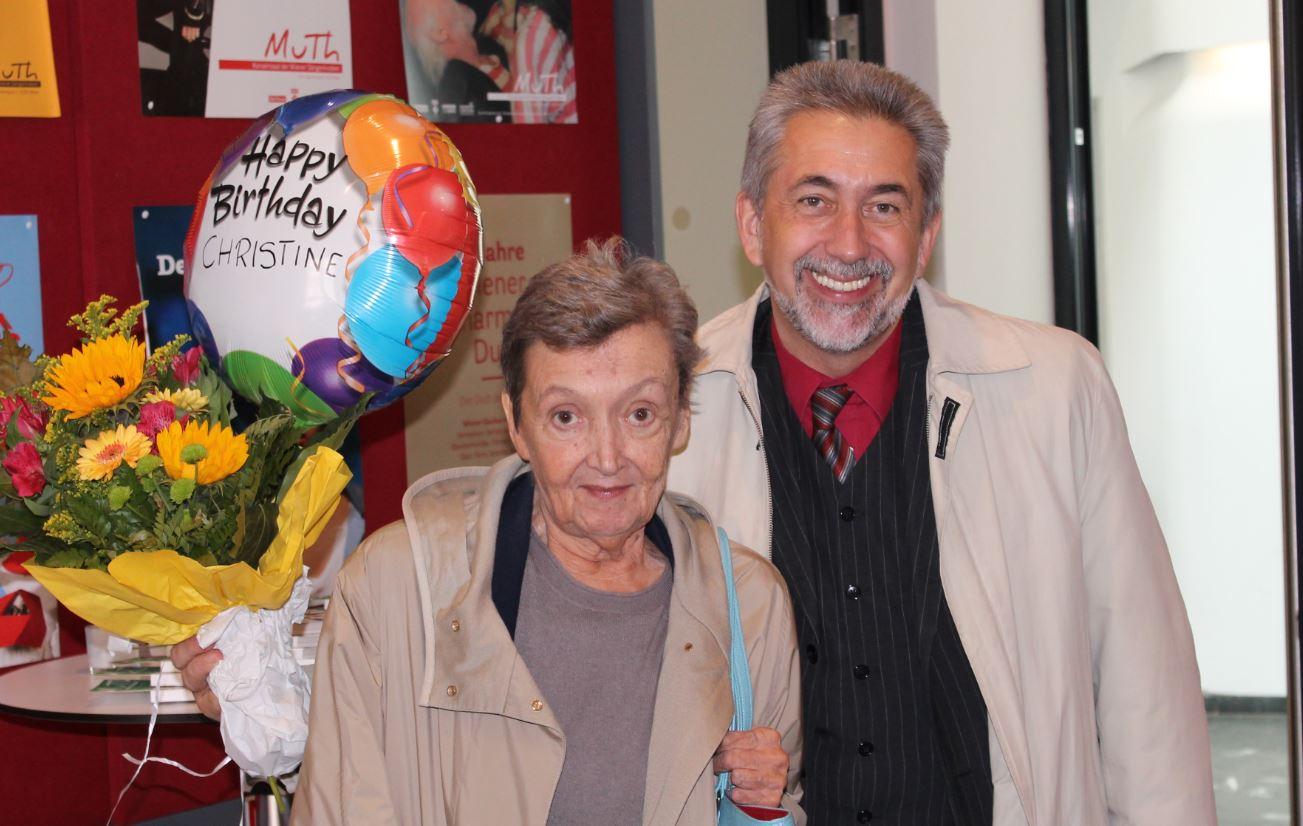 Christine Nöstlinger ist 80 (Foto Christian Drozda)