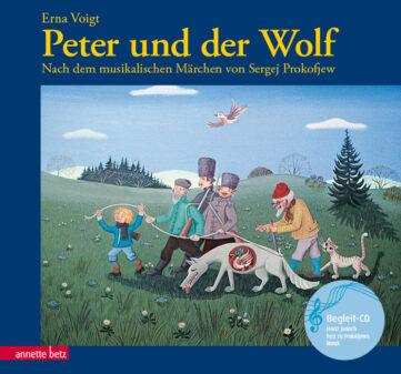 Produktcover: Peter und der Wolf (mit CD)