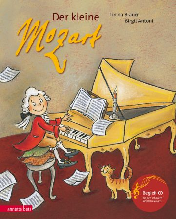 Produktcover: Der kleine Mozart (mit CD)
