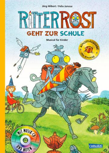 Produktcover: Ritter Rost 8: Ritter Rost geht zur Schule (limitierte Sonderausgabe)