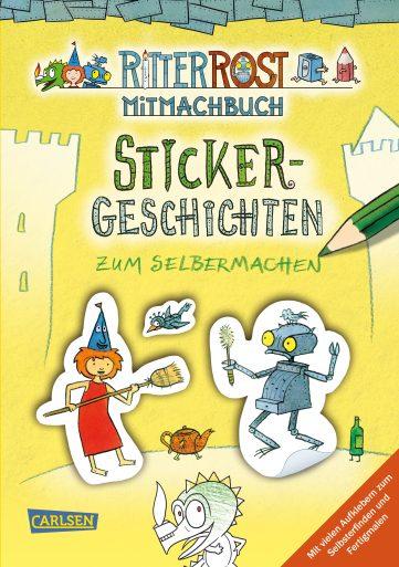 Produktcover: Ritter Rost Mitmachbuch: Sticker-Geschichten zum Selbermachen