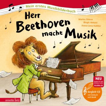 Produktcover: Herr Beethoven macht Musik