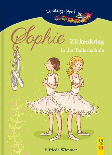 Produktcover: LESEZUG/Profi: Sophie - Zickenkrieg in der Ballettschule