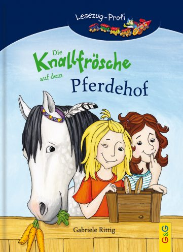 Produktcover: LESEZUG/Profi: Die Knallfrösche auf dem Pferdehof