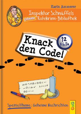 Produktcover: Inspektor Schnüffels geheime Ratekrimi Bibliothek - Knack den Code!