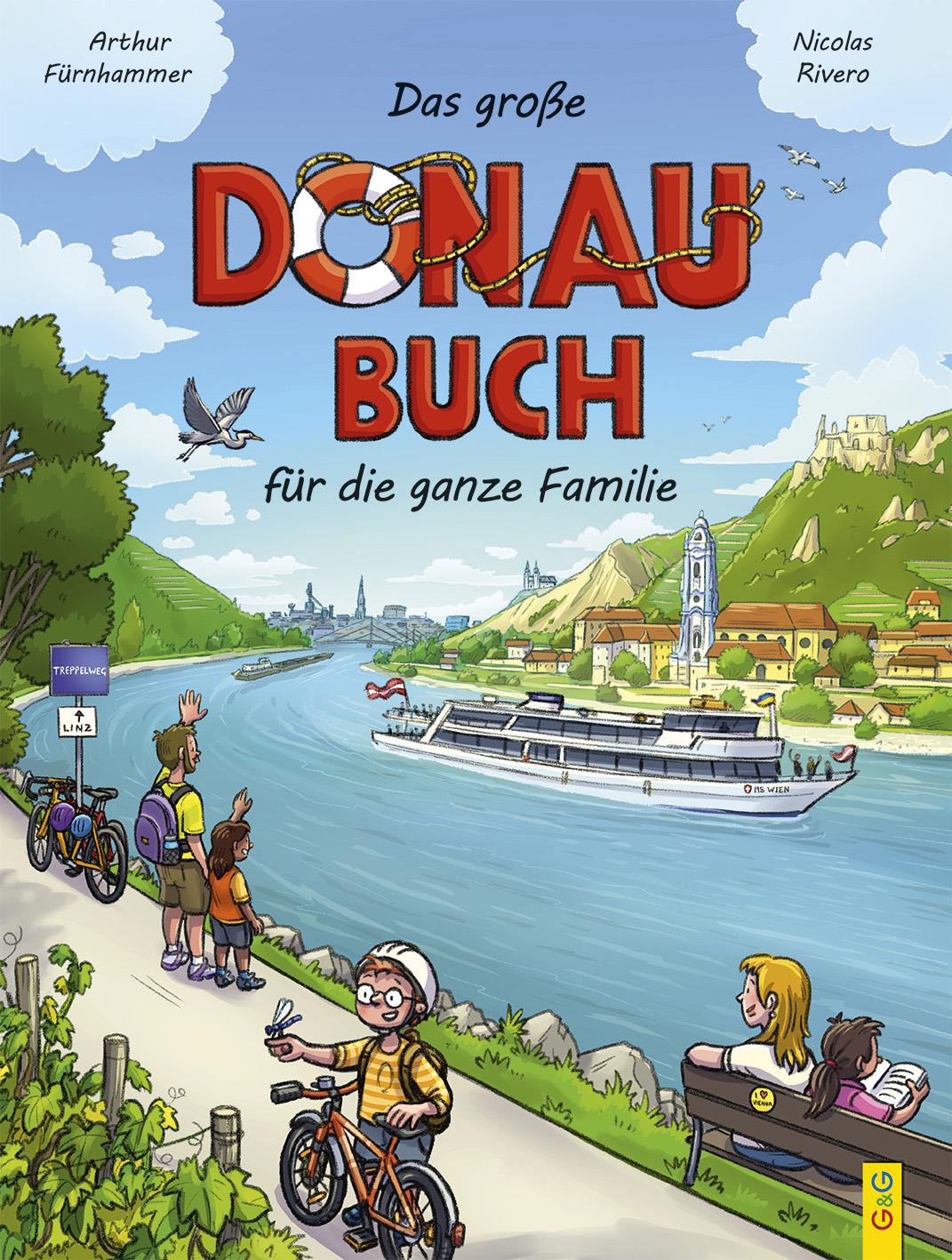 Produktcover: Das große Donau-Buch für Kinder