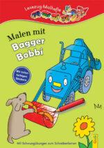 Produktcover: LESEZUG/ Malbuch: Malen mit Bagger Bobbi