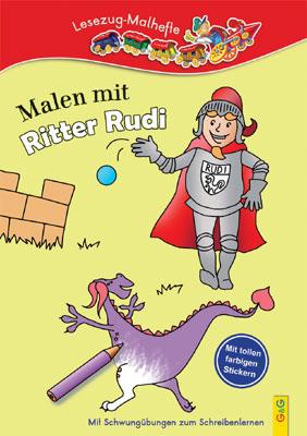 Produktcover: LESEZUG/ Malbuch: Malen mit Ritter Rudi