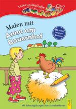Produktcover: LESEZUG/ Malbuch: Malen mit Anna am Bauernhof