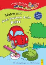 Produktcover: LESEZUG/ Malbuch: Malen mit dem kleinen Auto Fritz