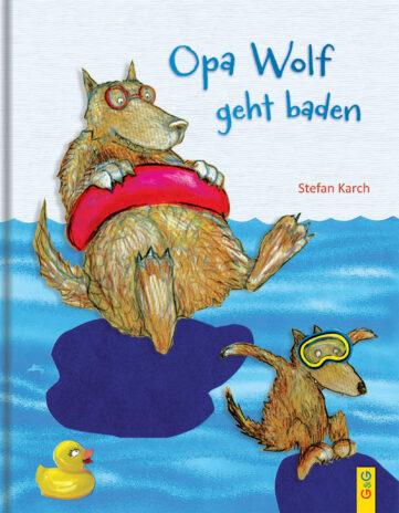Produktcover: Opa Wolf geht baden