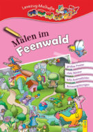 Produktcover: LESEZUG/ Malbuch: Malen im Feenwald