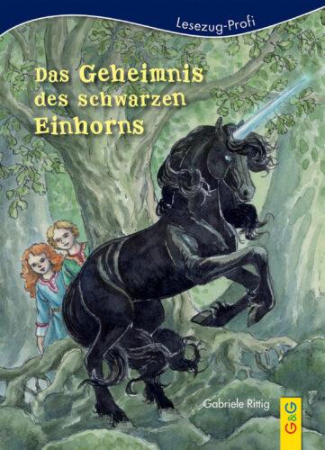 Produktcover: LESEZUG/Profi: Das Geheimnis des schwarzen Einhorns
