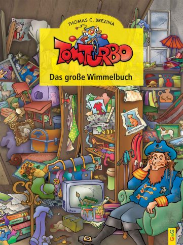 Produktcover: Tom Turbo: Wimmelbuch