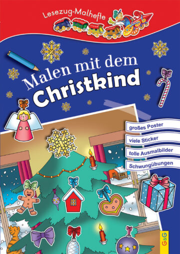 Produktcover: LESEZUG/ Malbuch: Malen mit dem Christkind