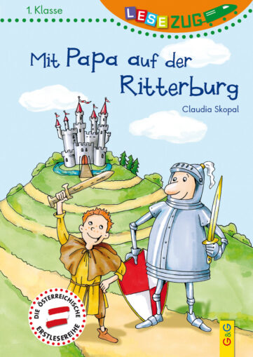 Produktcover: LESEZUG/1. Klasse: Mit Papa auf der Ritterburg