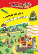 Produktcover: LESEZUG/ Malbuch: Malen in der Märchenwelt