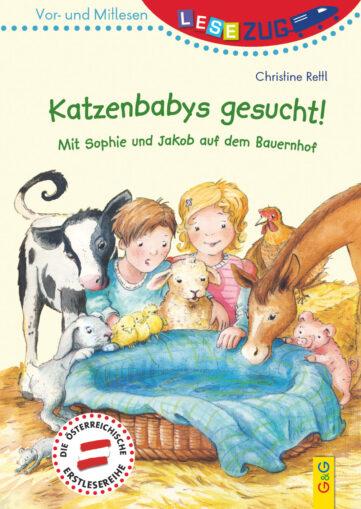 Produktcover: LESEZUG/Vor- und Mitlesen: Katzenbabys gesucht!