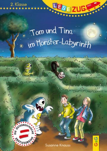 Produktcover: LESEZUG/2. Klasse: Tom und Tina im Monster-Labyrinth