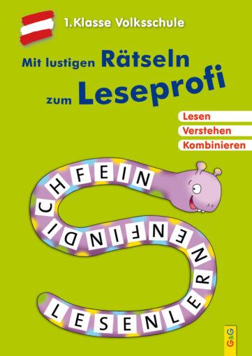 Produktcover: Mit lustigen Rätseln zum Leseprofi - 1. Klasse Volksschule