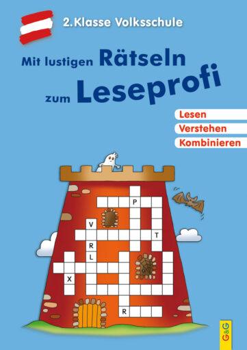 Produktcover: Mit lustigen Rätseln zum Leseprofi - 2. Klasse Volksschule