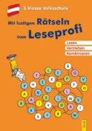 Produktcover: Mit lustigen Rätseln zum Leseprofi - 3. Klasse Volksschule
