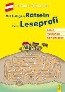 Produktcover: Mit lustigen Rätseln zum Leseprofi - 4. Klasse Volksschule