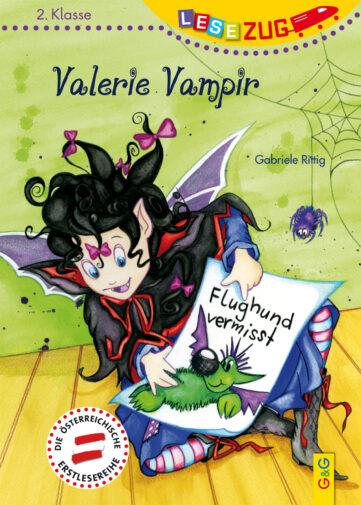 Produktcover: LESEZUG/2. Klasse: Valerie Vampir - Flughund vermisst