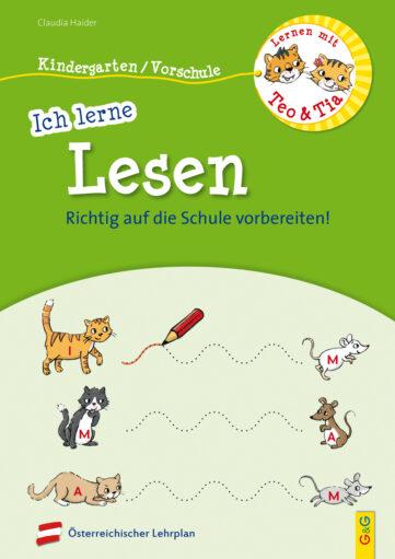 Produktcover: Lernen mit Teo und Tia – Ich lerne Lesen – Kindergarten/Vorschule