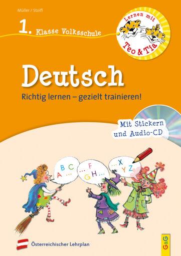 Produktcover: Lernen mit Teo und Tia Deutsch – 1. Klasse Volksschule mit CD