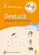 Produktcover: Lernen mit Teo und Tia Deutsch – 2. Klasse Volksschule mit CD