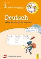 Produktcover: Lernen mit Teo und Tia Deutsch – 3. Klasse Volksschule mit CD