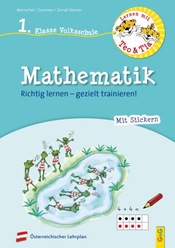 Produktcover: Lernen mit Teo und Tia Mathematik – 1. Klasse Volksschule
