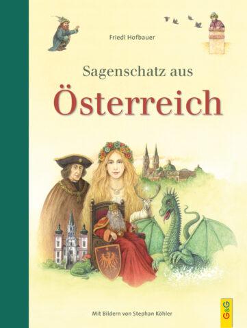 Produktcover: Sagenschatz aus Österreich