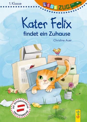 Produktcover: LESEZUG/1. Klasse: Kater Felix findet ein Zuhause