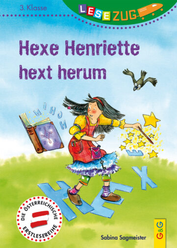 Produktcover: LESEZUG/3. Klasse: Hexe Henriette hext herum