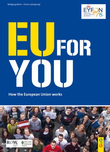 Produktcover: EU FOR YOU! - Englisch