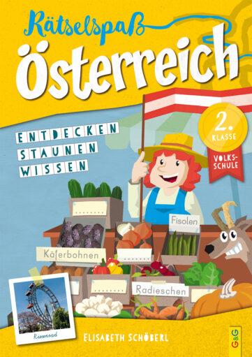 Produktcover: Rätselspaß Österreich – 2. Klasse Volksschule