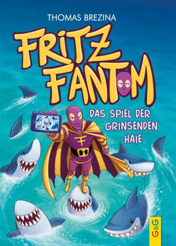 Produktcover: Fritz Fantom - Das Spiel der grinsenden Haie