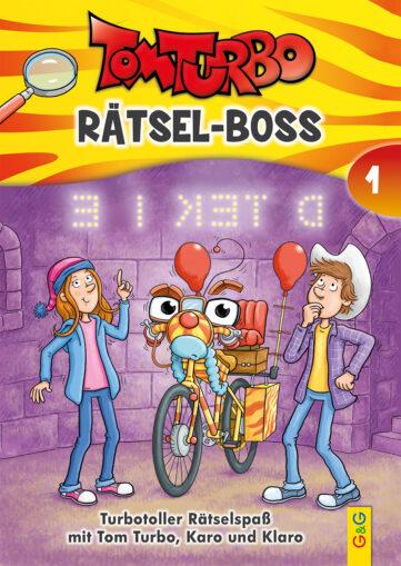 Produktcover: Tom Turbo - Rätsel-Boss 1