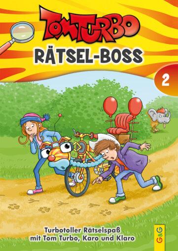 Produktcover: Tom Turbo - Rätsel-Boss 2