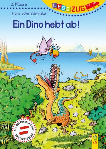Produktcover: LESEZUG 2. Klasse Ein Dino hebt ab!