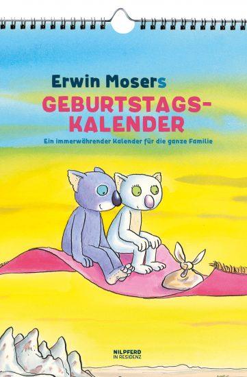Produktcover: Erwin Mosers Geburtstagskalender