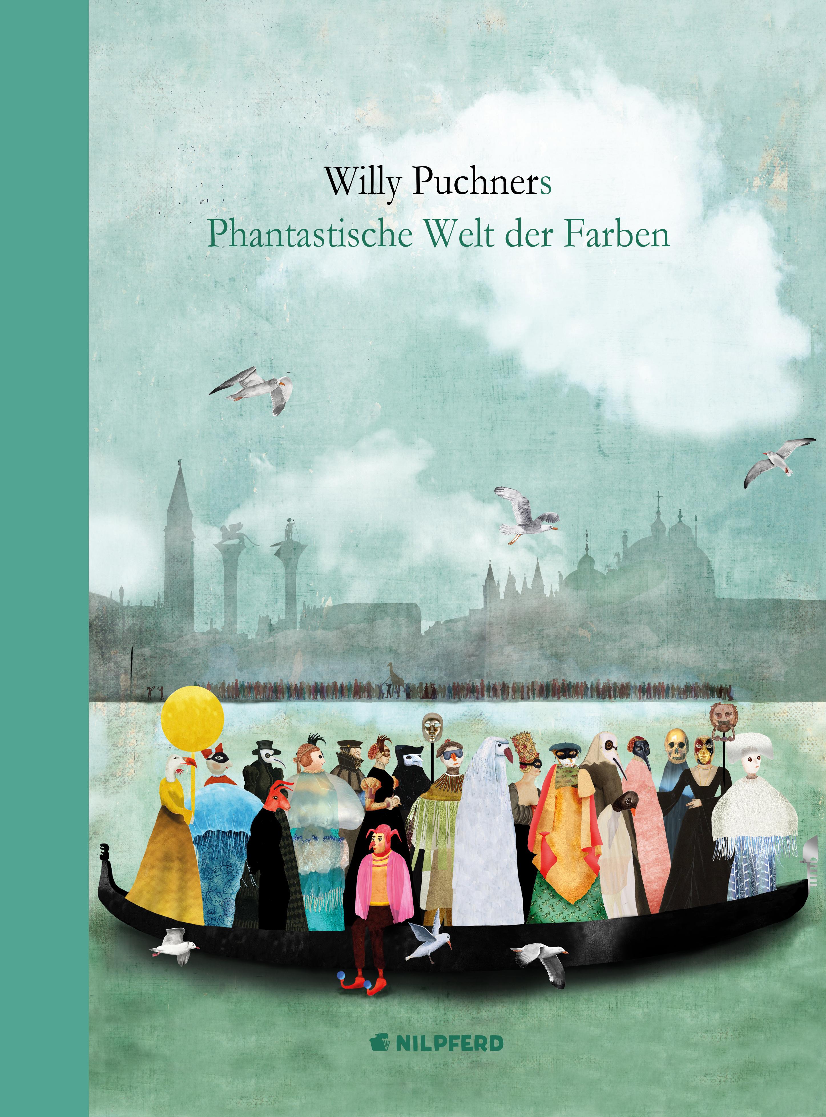 Produktcover: Willy Puchners Phantastische Welt der Farben