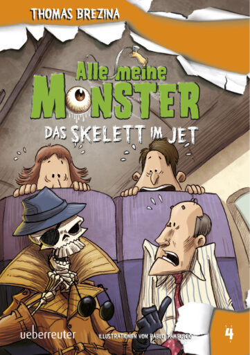 Produktcover: Alle meine Monster - Das Skelett im Jet