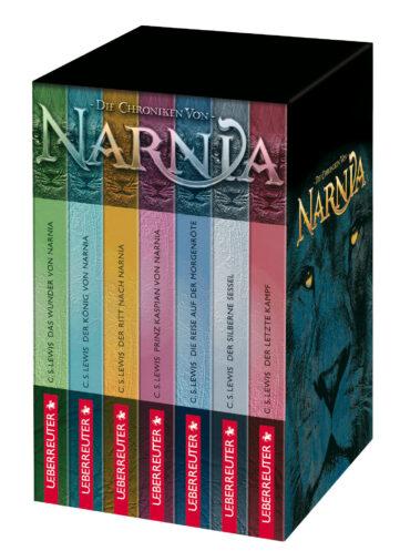 Produktcover: Die Chroniken von Narnia - Gesamtausgabe im Schuber